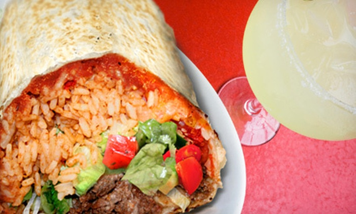 Burrito Burrito - Multiple Locations: $7 for $15 Worth of Mexican Food at Burrito Burrito