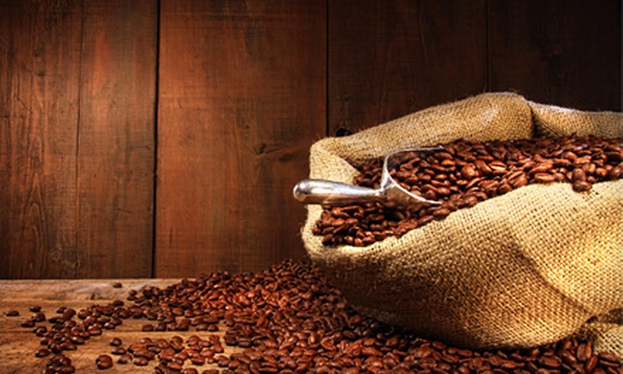 Fresh Cup Roastery Cafe - Greater Victoria: $16 for a One-Pound Bag of Organic Coffee and Five 12-Ounce Specialty Coffee Drinks at Cup Roastery Cafe in Greater Victoria ($37 Value)