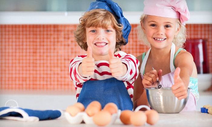 Kids Cook by Barbara Beery - Northwest Hills - Far West: Children's Cupcake-Decorating Session for One or Two at Kids Cook by Barbara Beery