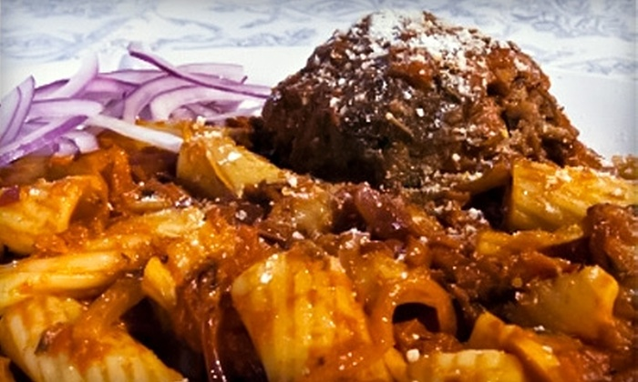 Pastalini - Miramar: $8 for $16 Worth of Pasta, Pizza, and More at Pastalini. Choose from Two Locations.