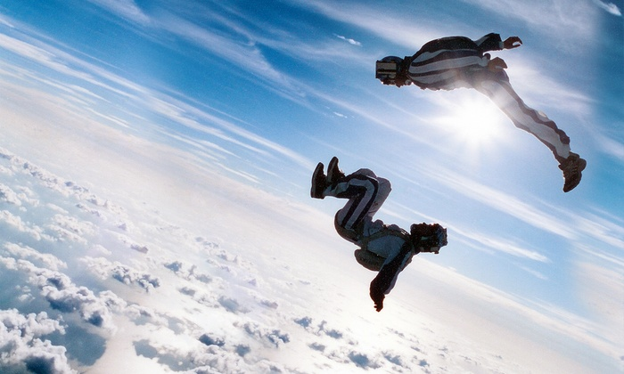 Texas Skydiving Center - Lexington: One or Two Tandem Jumps and Ground School at Texas Skydiving Center (Up to Half Off)