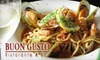 Buon Gusto Ristorante & Bar - Mission Hills: $9 for $20 Worth of Italian Fare and Drinks at Buon Gusto Ristorante & Bar in Mission Hills