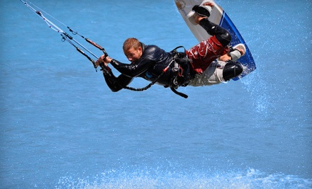 One-Hour Introduction Kite Lesson (a $69 value) - Aerial Kiteboarding in Winnipeg