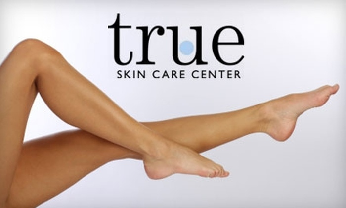 True Skin Care Center - Near North Side: $180 for Three Laser Hair Removal Treatments at True Skin Care Center (Up to $1,650 Value)