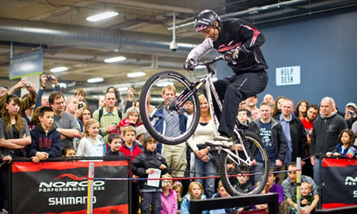 Seattle Bicycle Expo produced by Cascade Bicycle Club - Seattle: Visit to Seattle Bike Expo for Two or Four on March 9 or 10 from the Cascade Bicycle Club (Up to 58% Off)