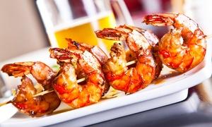 Arcimboldo Cucine e Vino: Menu di pesce da 4 portate con calice di vino al ristorante Arcimboldo Cucine e Vino (sconto fino a 60%)