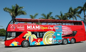 Gray Line Miami Tours: Miami City Bus Tour with Optional Biscayne Bay Boat Cruise from Gray Line Miami Tours (Up to 56% Off)