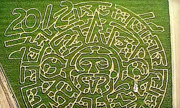 Fantozzi Farms - Patterson: Courtyard and Corn Maze with Option for Haunted Corn Maze for Two, Four, or Six at Fantozzi Farms (Up to 57% Off)