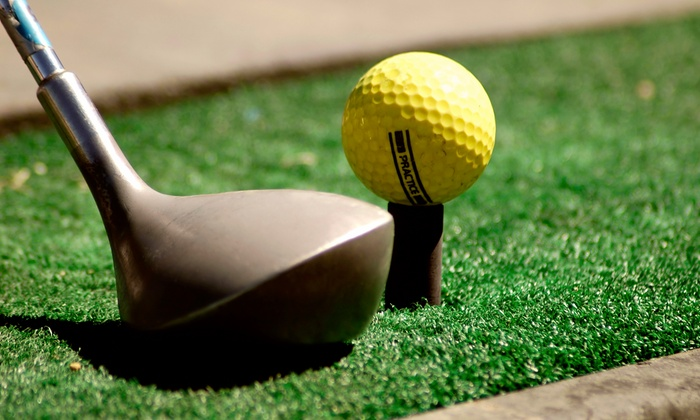 Tomball Golf - Tomball: Indoor Golf Lessons, Virtual Range Practice, and Hybrid Club at Tomball Golf (Up to 76% Off)