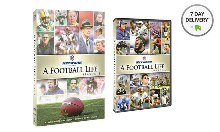 NFL: A Football Life Seasons 1 and 2 DVD Bundle: NFL: A Football Life Seasons 1 and 2 DVD Bundle. Free Shipping and Returns.