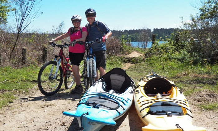 North Lake Conroe Paddling Co. - Willis: Self-Guided Paddle and Pedal Tour for Two, Four, or Six from North Lake Conroe Paddling Co. (Up to 53%)