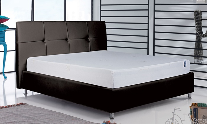 lit grace et matelas sampur groupon shopping. Black Bedroom Furniture Sets. Home Design Ideas