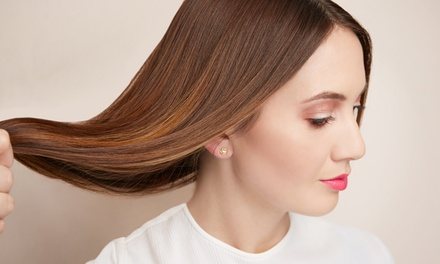 Haircut Packages from Lorie J. Burick at S.R. Hair Studio (Up to 59% Off). Three Options Available.