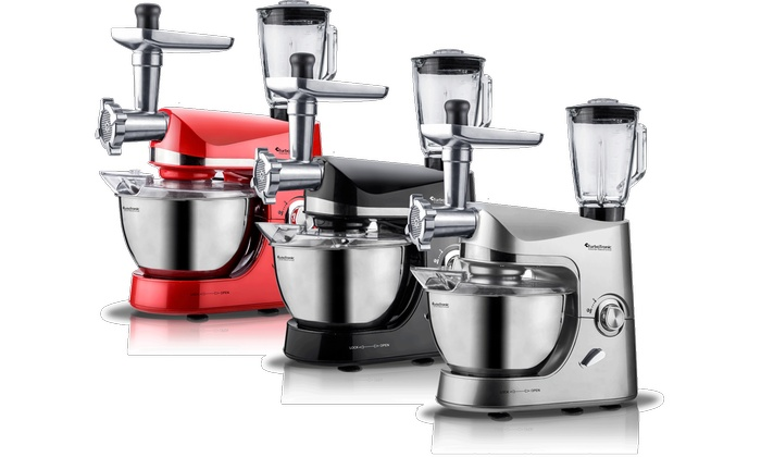 Robot de cuisine avec mixeur turbotronic groupon for Robot mixeur cuisine