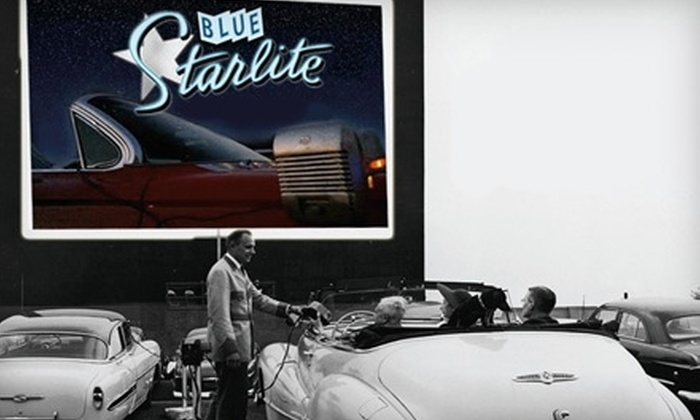 Blue Starlite Mini Urban Drive-In - Multiple Locations: $12 for an FM Slot Admission to Blue Starlite Mini Urban Drive-In ($25 Value)