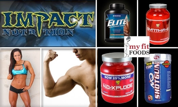 Impact Nutrition - Midtown: $20 for $45 Worth of all In-Store Products at Impact Nutrition