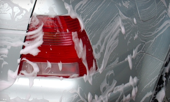 Genie Car Wash - Multiple Locations: $39 for The Wizard Touch Car-Wash Package at Genie Car Wash (an $89.95 Value)