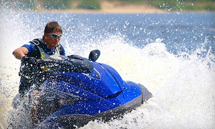 Las Vegas Boat Harbor - Boulder City: WaveRunner, Pontoon-Boat, or Speedboat and Wakeboard Rental at Las Vegas Boat Harbor in Boulder City