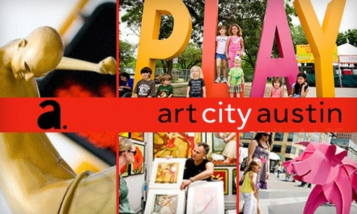 Art Alliance Austin - Downtown: $7 for a Two-Day Pass to Art City Austin on April 24 and 25 ($15 Value)