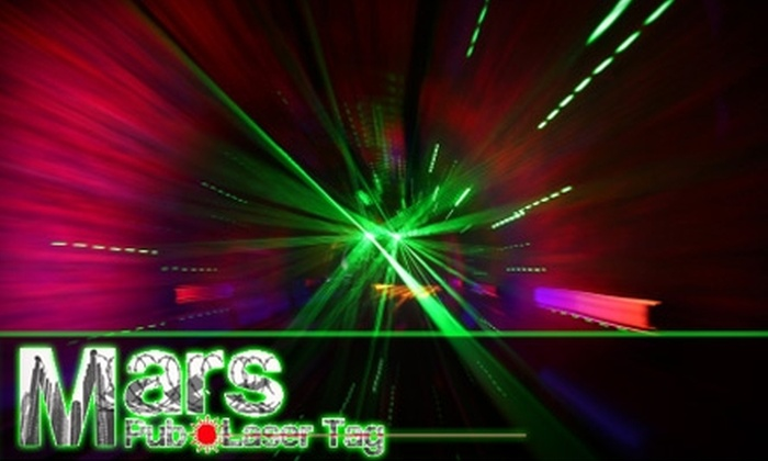 Mars Pub and Laser Tag - Gainesville: $8 for Two Games of Laser Tag at Mars Pub and Laser Tag (Up to $16 Value)