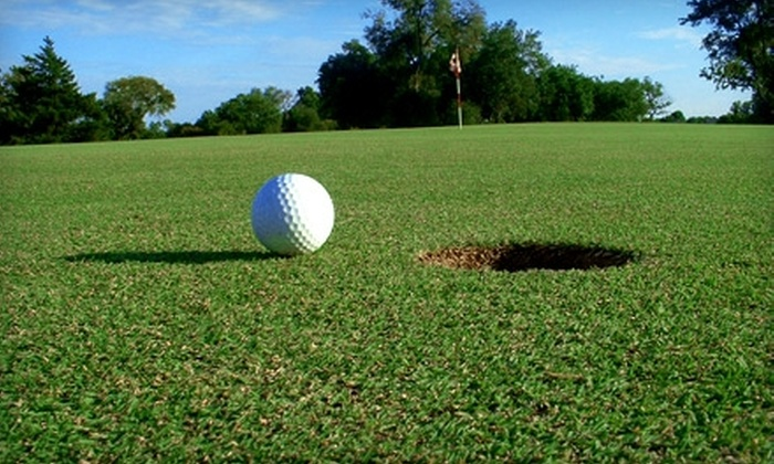 Concho Springs Golf Course - Eden: $27 for 18 Holes of Golf and Cart Rental for Two at Concho Springs Golf Course (Up to $54 Value)