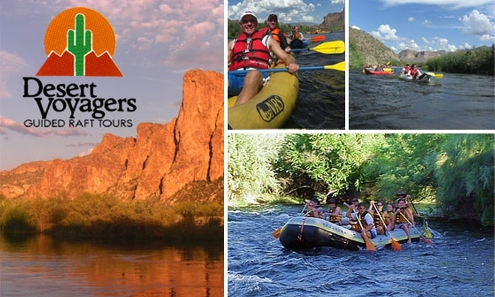 Desert Voyagers Guided Raft Tours - Phoenix: $30 for a Funwater Raft Tour or Funyak Excursion with Desert Voyagers ($68 or $78 Value)