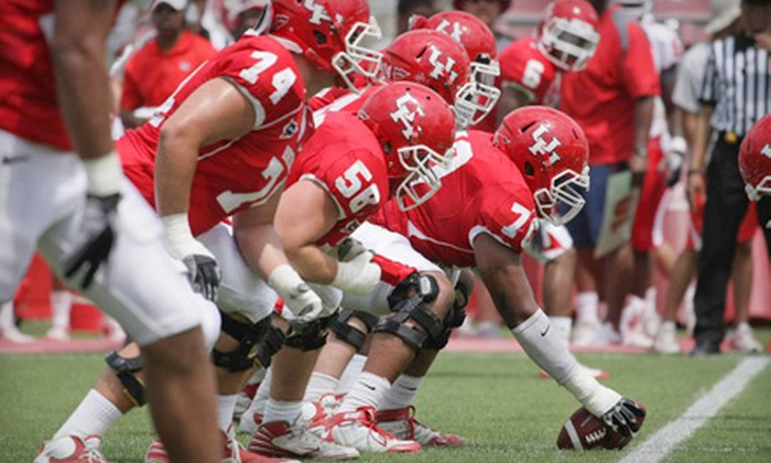 University of Houston Cougars - Greater Third Ward: One Ticket to a University of Houston Football Game at Robertson Stadium. Three Games Available.
