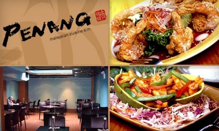Penang Restaurant - Dupont Circle: $15 for $35 Worth of Malaysian Cuisine at Penang Restaurant