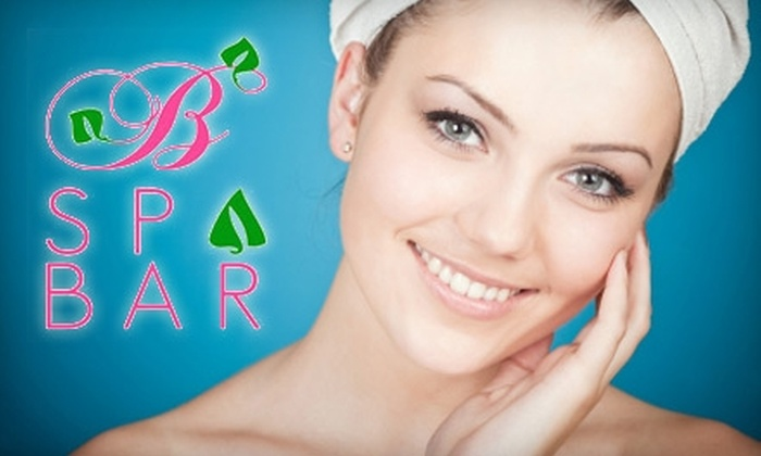 B Spa Bar - Multiple Locations: $78 for a Max Rejuvenation Facial with LED Light Treatment at B Spa Bar ($350 Value)