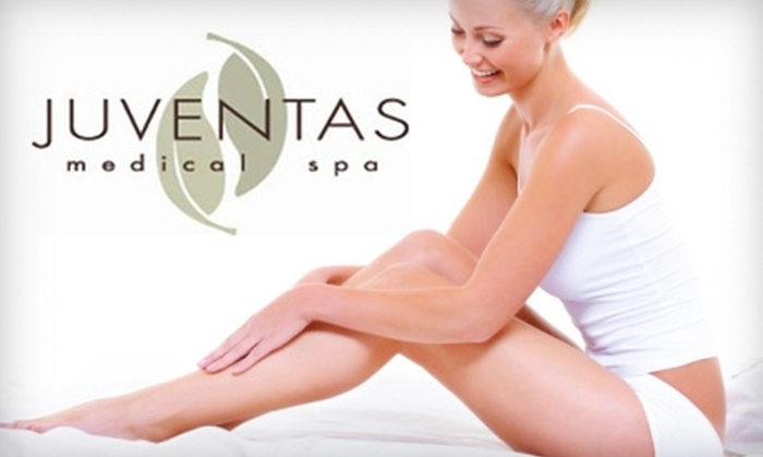 Juventas Medical Spa - Rockford: $99 for Three Laser Hair-Removal Treatments at Juventas Medical Spa