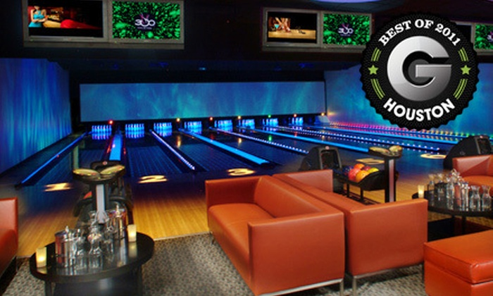 300 Houston - Memorial: $25 for $50 Worth of Upscale Bowling and Shoe Rentals at 300 Houston