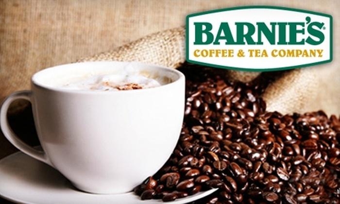 Barnie's Coffee & Tea Company - Multiple Locations: $10 for $20 Worth of Coffee, Tea, and More at Barnie's Coffee & Tea Company