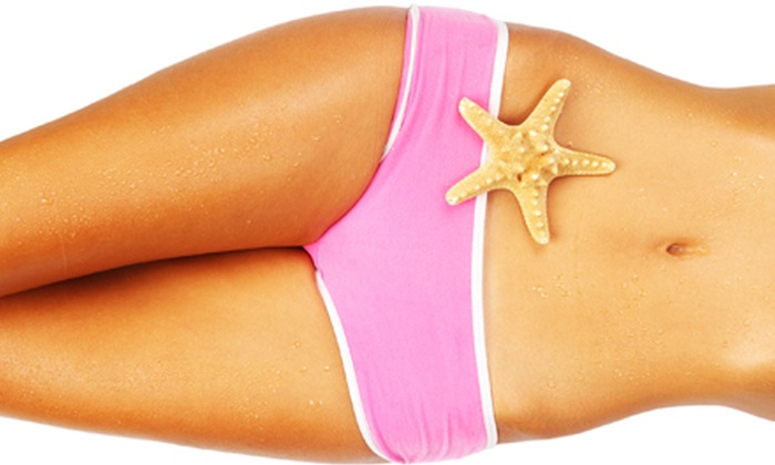 Darque Tan - Multiple Locations: Tanning or Red-Light Therapy at Darque Tan (Up to 71% Off). Four Options Available.