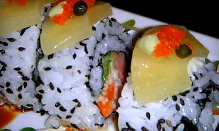 Sushi Go Round - Fresno: $15 for $30 Worth of Japanese Fare and Non-Alcoholic Drinks at Sushi Go Round