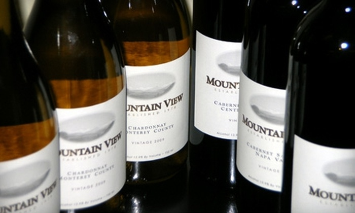Mountain View Vinters: $42 for Six Bottles of Wine from Mountain View Vintners ($91.91 Value)