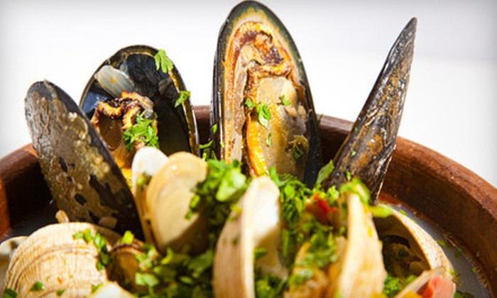 Voce Del Mare - Bird Rock: $25 for $50 Worth of Italian Dinner Cuisine and Drinks at Voce Del Mare