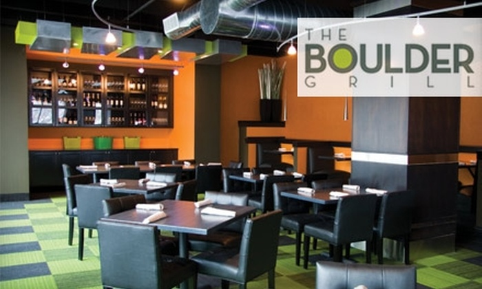 The Boulder Grill - Downtown Tulsa: $15 for $30 Worth of Small Plates, Innovative Entrees, and Drinks at The Boulder Grill