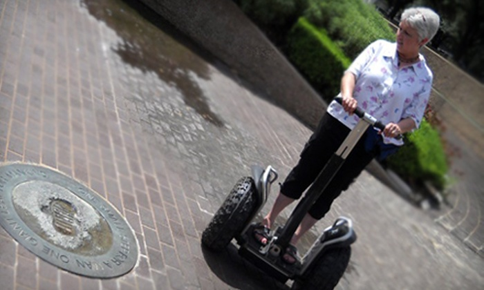 Segway Tours of Houston - Downtown: Buffalo Bayou Segway Tour for One, Two, Four, or Six at Segway Tours of Houston