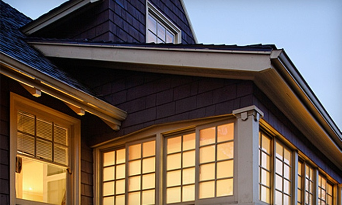 A Clean Gutter - Merriam Town Center: $49 for Up to 100 Feet of Gutter Cleaning from A Clean Gutter (Up to $100 Value)