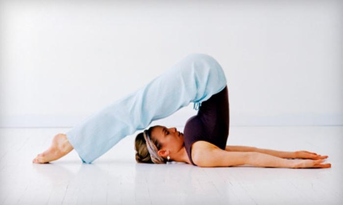 YogiVeda Yoga Studio - Bluffton: $39 for One Month of Unlimited Classes at YogiVeda Yoga Studio