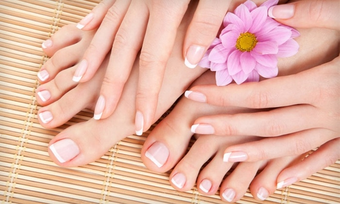 Studio M - Upland: $25 for a Manicure/Pedicure ($50 Value) or $30 for $60 Worth of Services at Studio M