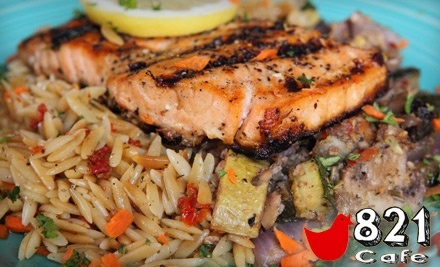 $14 Groupon to 821 Cafe - 821 Cafe in Richmond
