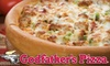 Godfather's Pizza Iowa - Multiple Locations: $10 for $20 Worth of Pizza, Salads, Drinks, and More at Godfather's Pizza