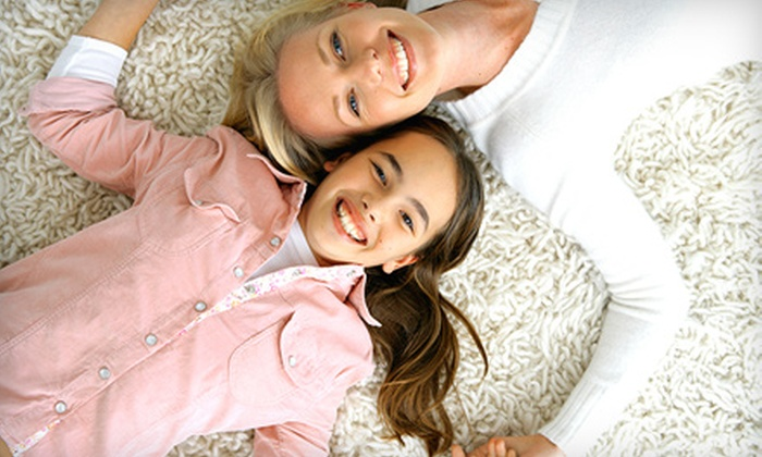 Above & Beyond Carpet Cleaning - Multiple Locations: One or Three Carpet Cleanings for Four Rooms up to 3,000 Total Square Feet from Above & Beyond Carpet Cleaning