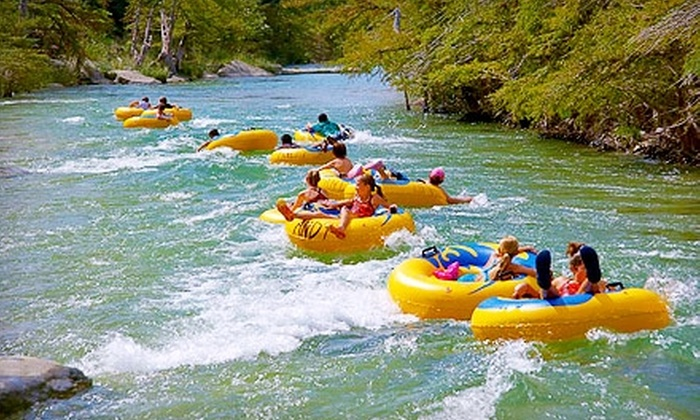 Andy's on River Road - Concan: $10 for One-Day Tube Rentals and Shuttle Service to the Frio River for Two from Andy's on River Road in Concan ($20 Value)