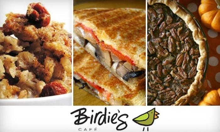 Birdie's Café - Martin Drive: $5 for $10 Worth of Café Fare and Beverages at Birdie's Café