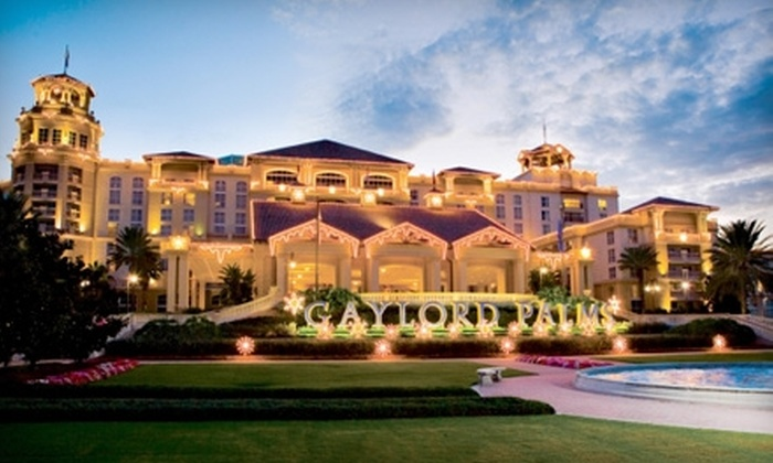 Gaylord Palms Resort - Gaylord Palms Resort and Convention Center: $189 for a One-Night Stay in an Executive Suite at Gaylord Palms Resort in Kissimmee ($588 Value)