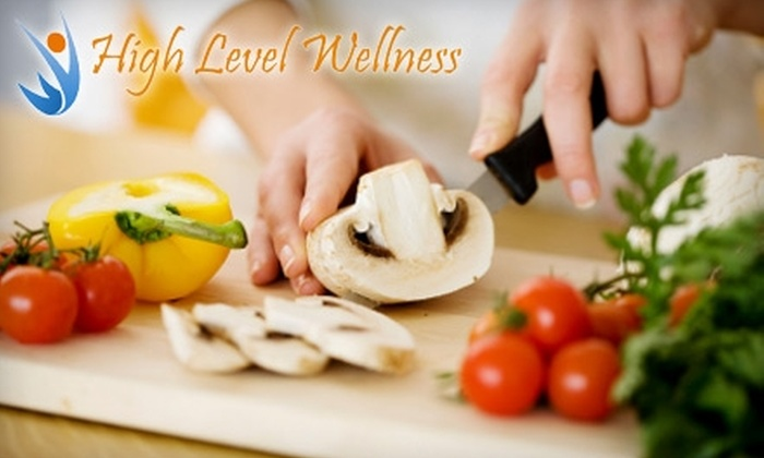 High Level Wellness - Cherry Hill: $20 for an Organic, Whole Foods Cooking Demo, Tasting, and Nutrition Q&A at High Level Wellness in Cherry Hill ($45 Value)