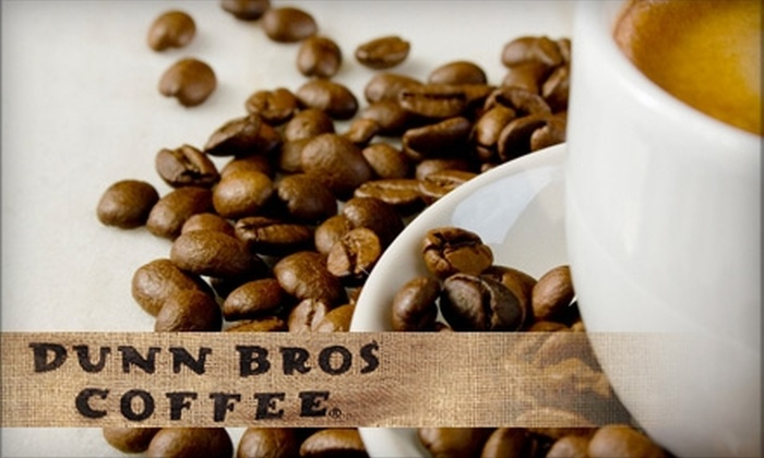 Dunn Bros Coffee - Pewaukee: $5 for $10 Worth of Freshly Roasted Coffee and Café Fare at Dunn Bros Coffee