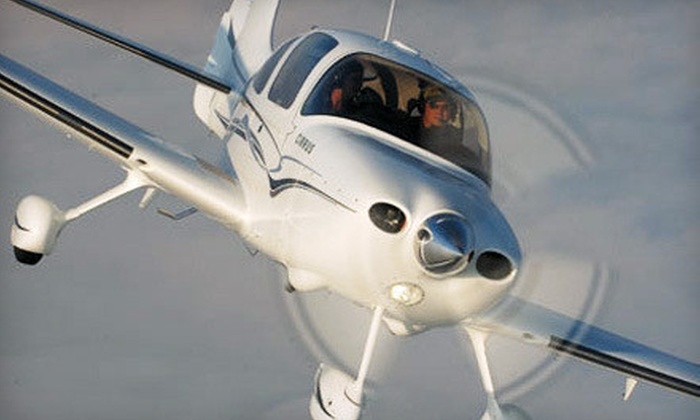 Empire Flight Academy - Farmingville: $159 for a Two-Hour Introductory Flight Package from Empire Flight Academy in Farmingdale ($379 Value)